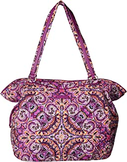 0906f62412 Vera bradley get carried away tote priscilla pink