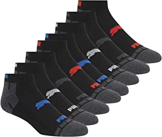 PUMA mens 8 Pack Low Cut Socks