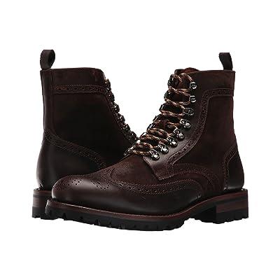 Frye George Adirondack (Brown Multi Waterproof Smooth Pull Up/Waxed Suede) Men