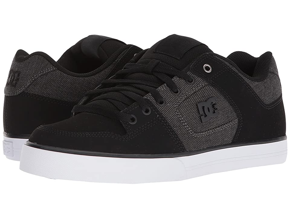 DC Pure SE (Black/Black/Dark Grey) Men