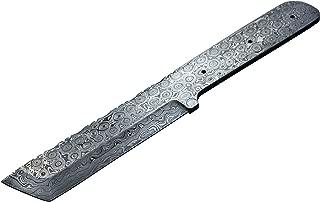 Whole Earth Supply Damascus Knife Blank Blade Making Tanto Hunting Skinning Skinner Best Steel