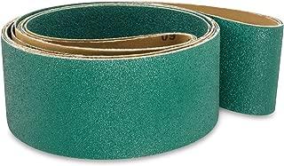3 X 79 Inch 40 Grit Metal Grinding Zirconia Sanding Belts, 4 Pack