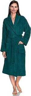 TowelSelections Women's Robe, Turkish Cotton Terry Shawl Bathrobe