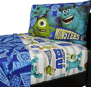 Disney Pixar Monsters University Sheet Set, Twin