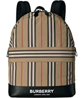Burberry Kids - Archive Stripe Backpack