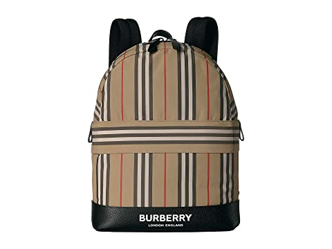 Burberry Kids Archive Stripe Backpack