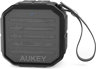 AUKEY Bluetooth Speaker, Portable Wireless Outdoor Speaker with A2DP & Build-in Microphone, Enhanced Bass for iPhone 7 / 6...