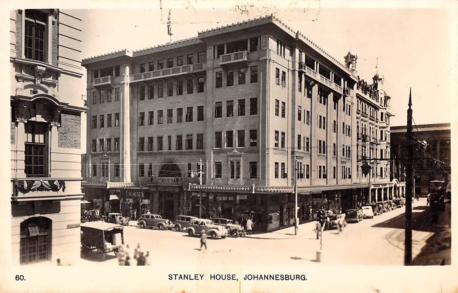 Johannesburg South Africa Stanley House Real Postc lowest price Antique Translated Photo