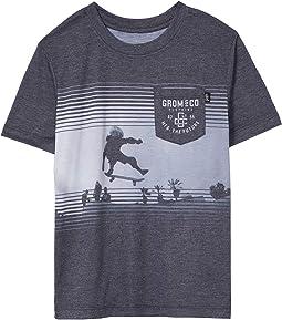 Stuntman Knit T-Shirt (Little Kids/Big Kids)