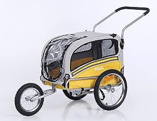 Sepnine 2 in1 pet Dog Bike Trailer Bicycle Trailer and Stroller Jogger 20303