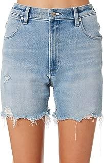 Wrangler Women's Tyler Short Cotton Fitted Elastane Blue