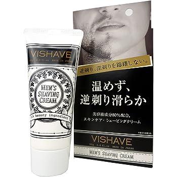 リベルタ ヴィシェーブ 逆剃り対応 シェービングクリーム 時短簡単 アフターシェーブ もこれ一本 美容液配合 単品