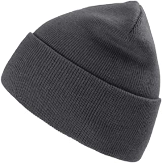 camptrace Beanie Hat Winter Warm Skull Knit Cuffed Hats Men Women Soft Plain Cuff Ski Skull Cap