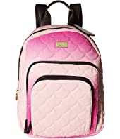 Luv Betsey Jay Canvas Triple Compartment Tonal Backpack