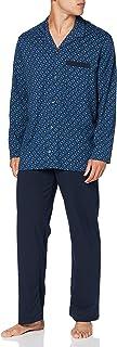 Schiesser Men's Pyjama Lang Pajama Set