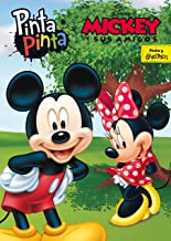 Mickey y sus amigos. Pinta Pinta: Libro para colorear
