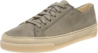 (7 UK, Green (Khaki Nubuck)) - Clarks Women's Hidi Holly Low-Top Sneakers