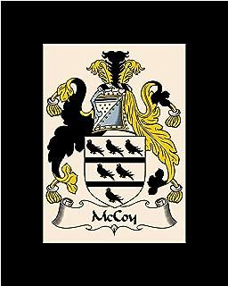 Carpe Diem Designs McCoy Coat of Arms/McCoy Family Crest 8X10 Photo Plaque, Personalized Gift