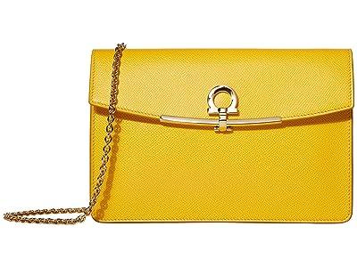 Salvatore Ferragamo Clip Mini Bag (Sunshine) Handbags