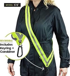 MOONSASH - ایالات متحده آمریکا اختراع منعکس کننده منسوجات> تجهیزات ایمنی در شب برای پیاده روی سگ ، مسافر ، دوچرخه سواری ، اسکوتر…> جلیقه ، مهار و کمربند جایگزین> برگشت پذیر ، راحت و کاربردی> توجه کنید!