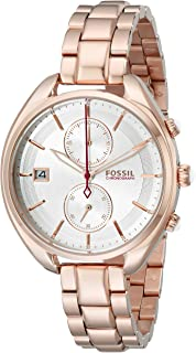Fossil Women's CH2977 Land Racer Rose Gold-Tone Stainless Steel Watch