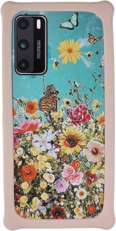 HUAYIJIE Funda para Xiaomi Mi6 Ceramic Funda Case Cover Carcasa para teléfono Hard Backplane + Marco de Silicona Suave PCHDH