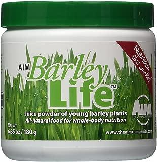 AIM BarleyLife Traditional 6.35 oz/180g powder