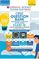 Oswaal CBSE Question Bank Class 10 English Language & Literature Book Chapterwise & Topicwise Includes Objective Types & MCQ's (For 2022 Exam) Kindle Edition