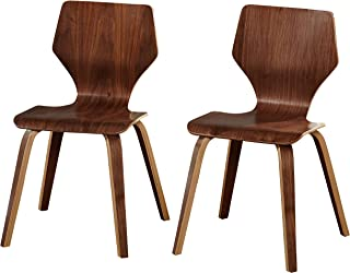 Angelo:HOME Asti Collection Dining Chair, Walnut