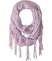KNS5006 Infinity Scarf with Fringe