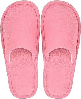 DRUNKEN Women's Carpet Chappals   Slip-On Fur Slippers for House & Travel   Cotton Soft Slippers for Bedroom   Slipper for Indoor & Outdoor