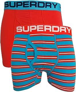 Superdry Sport Boxer Double Pack Orange