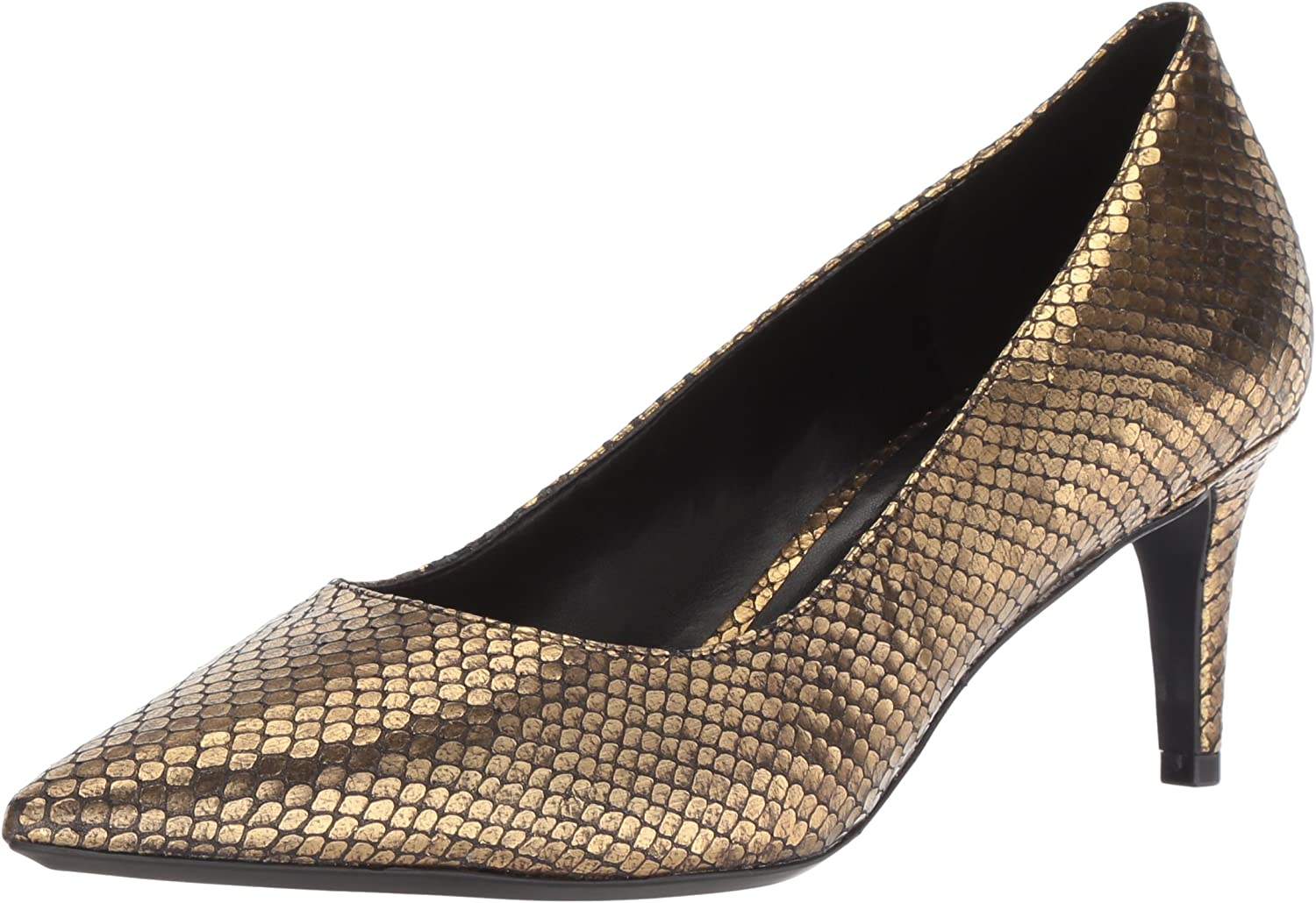 Nine West Womens Soho9x9 Metallic Pump