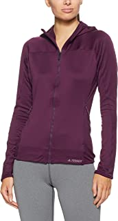 adidas Women's Trace Rocker Hooded Fleece Sweatshirt