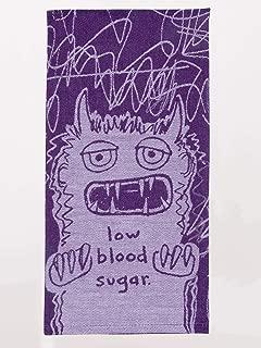 Blue Q Low Blood Sugar Woven Dish Towel