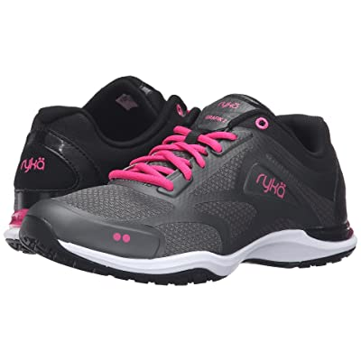 Ryka Grafik 2 (Black/Iron Grey/Athena Pink) Women
