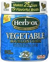 Herb-Ox Vegetable Bouillon Cubes 3.33oz (25 cubes)