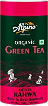 Alpino Certified Organic Green Tea - Detox Kahwa 100 G [Rich in Anti-Oxidants | Indian Kahwa with Traditional Spices & Herbs]