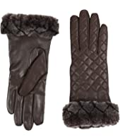 UGG - Quilted Croft Leather Smart Gloves