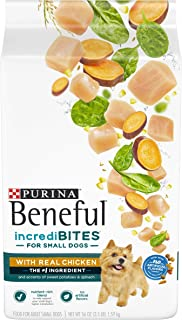 Purina Beneful Small Breed Dry Dog Food, IncrediBites With Real Chicken - (4) 3.5 lb. Bags