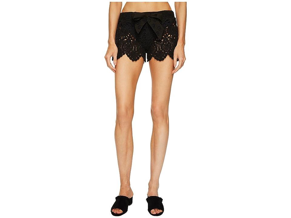 a538d76761 Letarte Crochet Shorts (Black) Women's Swimwear