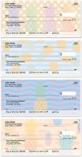 Pineapples Top Tear Value Priced Personal Checks (1 Box of Singles, Qty. 125)