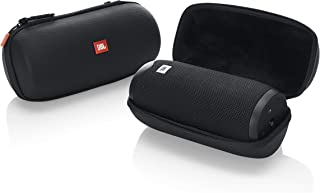 JBL Lifestyle Molded Carry Case for Link 20 Bluetooth Portable Speaker; Rugged EVA Shell with Weather Resistant Zippered Seal & Backpack Clip (JBL-LINK20-CASE)