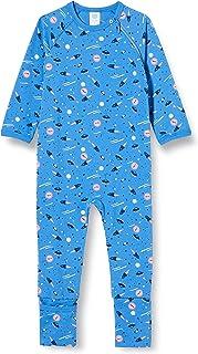 Sanetta Overall Blue Pigiamino per Bambino e Neonato Bimbo