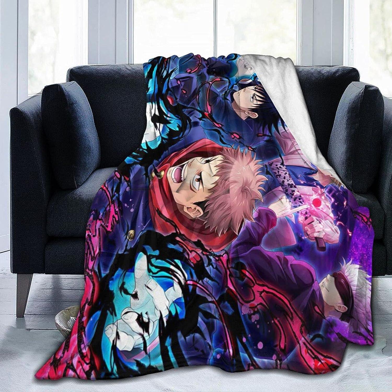 Jujutsu- Outlet Indefinitely SALE Kaisen Blanket Air Luxury Blan Conditioning Bed