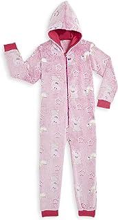Peppa Pig Pijamas Enteros Rosa Diseño Peppa Unicornio Que Brilla En la Oscuridad Super Suaves, Ropa Niña Invierno, Disfraz...