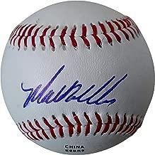SF San Francisco Giants Matt Williams Autographed Hand Signed Baseball with Proof Photo of Signing and COA, Arizona Diamondbacks, Washington Nationals, Cleveland Indians