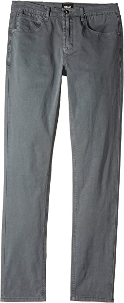 Hudson Kids Jagger Slim Straight Twill in Unconquered (Big Kids)