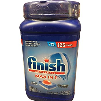 Finish Power Ball Max In One Plus (125 Tablets Net Wt 79.1 Oz, 79.1 oz