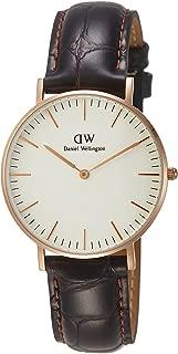 Women's 0510DW Classic York Analog Quartz Brown Leather Watch